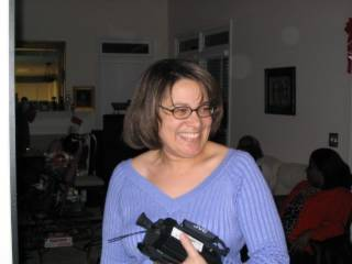 2004 Christmas Tanya the videographer..105_0582
