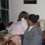 2004 Christmas Paulette livens up this corner...105_0583