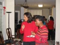 2004 Christmas get together at Annette Stewart